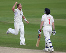 Stuart Meaker removed Glamorgan's Jamie Dalrymple early on the third morning at The Oval, Surrey v Glamorgan, County Championship Division Two, The Oval, September 9 2010