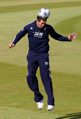 Tim Bresnan trains ahead of England first one-day international against Pakistan, September 9 2010