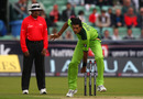 Mohammad Irfan went for 15 runs in his first over of international cricket