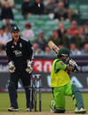 After a flurry of early boundaries Asad Shafiq was bowled by Michael Yardy, England v Pakistan, 1st ODI, Chester-le-Street, September 10 2010