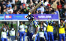 Jeevantha Kulatunga acknowledges the applause after reaching his fifty, Warriors v Wayamba, Champions League Twenty20, Port Elizabeth, September 11, 2010