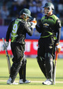 Mark Boucher and Justin Kreusch added an unbeaten 63-run partnership for the fourth wicket , Warriors v Wayamba, Champions League Twenty20, Port Elizabeth, September 11, 2010