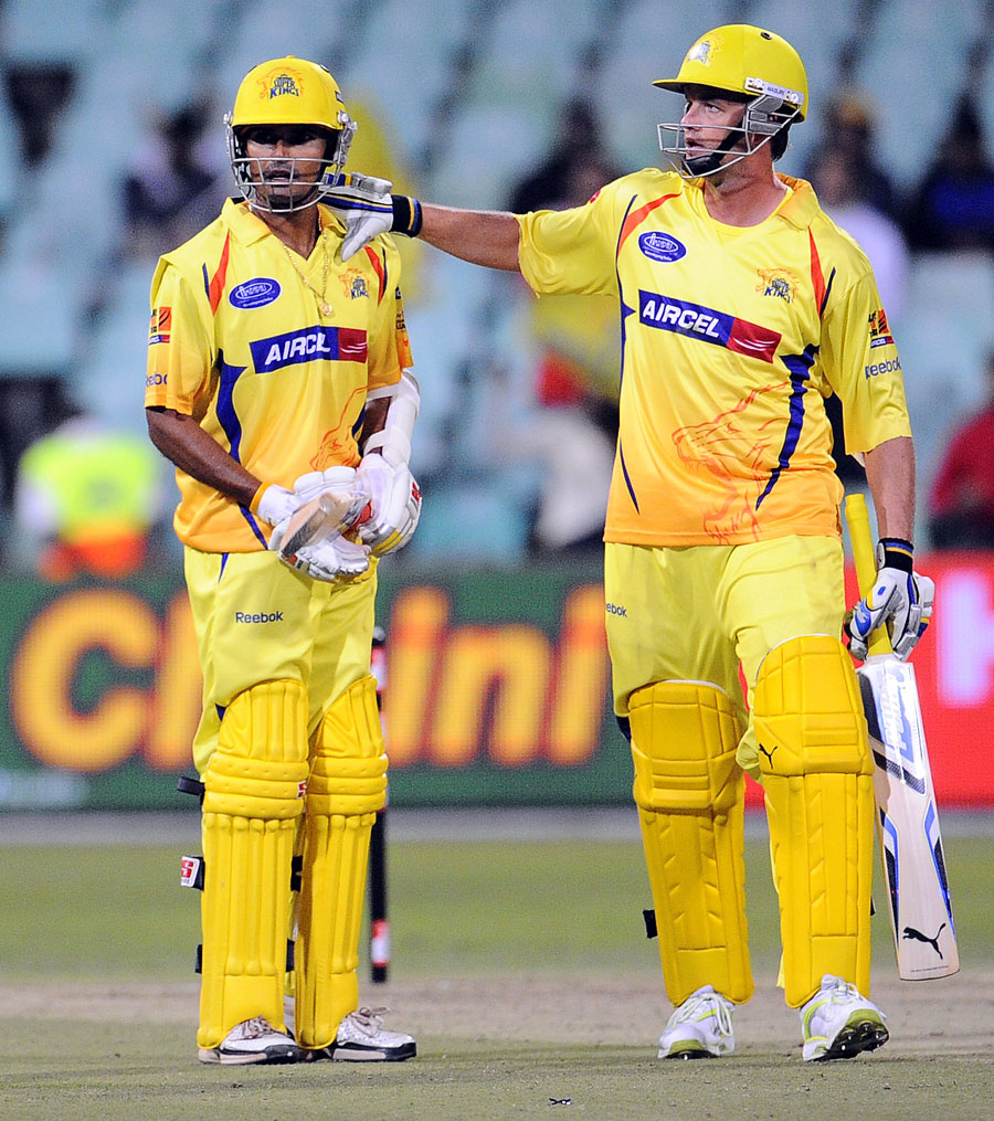 S Badrinath and Albie Morkel added 38 runs in quick time