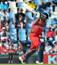 Jonathan Vandiar loses his offstump, Lions v South Australia, Champions League Twenty20, Centurion, September 12, 2010
