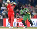 Jacques Kallis goes on the offensive, Royal Challengers Bangalore v Guyana, Champions League Twenty20, Centurion, September 12, 2010