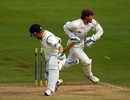 Gerard Brophy is stumped by Geraint Jones to set up James Tredwell's hat-trick against Yorkshire