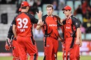 Gary Putland grabbed a couple of wickets, Royal Challengers Bangalore v South Australia, Champions League Twenty20, Durban, September 17, 2010