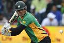 Kieran Noema-Barnett made a quickfire 53, Warriors v Central Districts, Champions League Twenty20 2010, Port Elizabeth, September 18, 2010