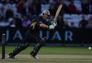 Jim Troughton partnered Ian Bell to steady Warwickshire's chase