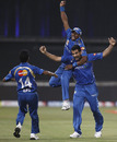 Mumbai finish their Champions League campaign on a high, Bangalore v Mumbai, Champions League Twenty20 2010, Durban, September 19, 2010