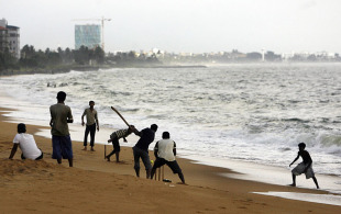 Cricket binds this chaotic coastal city