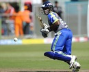 Mahela Udawatte scratched around for a 37-ball 23, Central Districts v Wayamba, Champions League Twenty20, Port Elizabeth, September 22, 2010