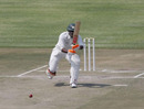 Keith Dabengwa hits down the ground, Zimbabwe XI v Ireland, ICC Intercontinental Cup, Harare, 3rd day, September 21, 2010