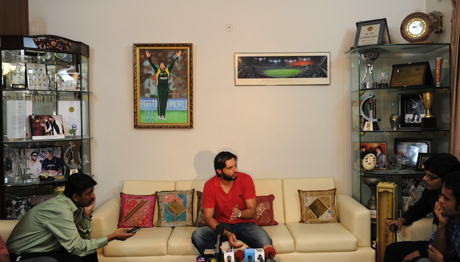 Pak India Zone: Shahid Afridi House Adress And Pictures