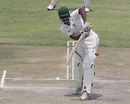 Tendai Chatara was the last man out in Zimbabwe's first innings, Zimbabwe XI v Ireland, ICC Intercontinental Cup, Harare, 4th day, September 23, 2010