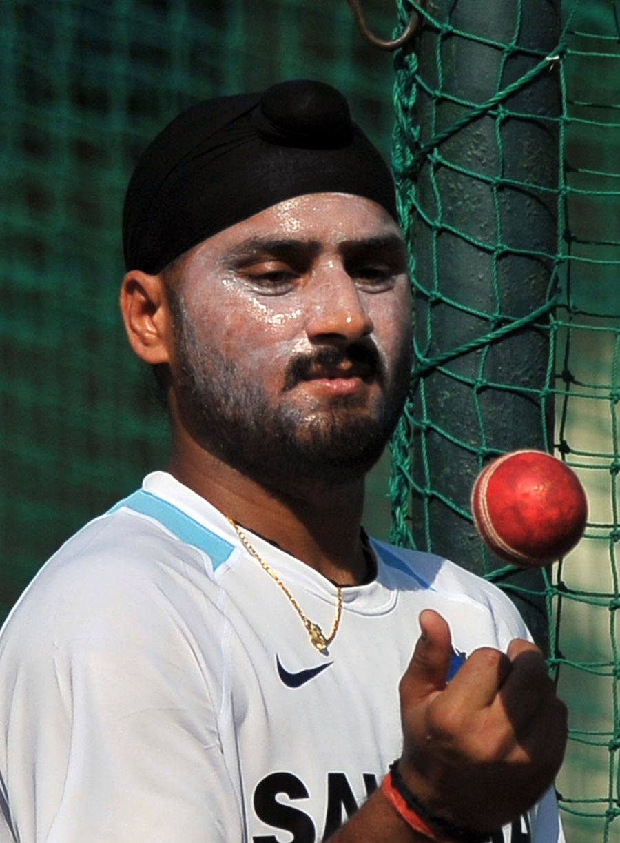 Harbhajan Singh is a doubtful starter for the first Test