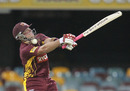 Ryan Broad receives a painful blow from a Brett Geeves short ball, Queensland v Tasmania, Ryobi Cup, Brisbane, October 6, 2010