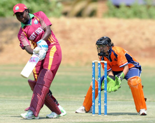 Stafanie Taylor struck 15 fours and a six during her powerful innings, West Indies Women v Netherlands Women, ICC Women's Cricket Challenge, Potchefstroom, October 6, 2010