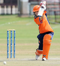 Netherlands captain Helmien Rambaldo top scored with 67 but couldn't prevent a defeat, Netherlands Women v Sri Lanka Women, ICC Women's Cricket Challenge, Potchefstroom, October 7, 2010