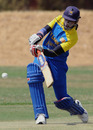 Sri Lanka's Suwini de Alwis is poised to hit the ball to the leg side, Pakistan Women v Sri Lanka Women, ICC Women's Cricket Challenge, Potchefstroom, October 10, 2010