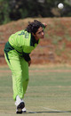 Pakistan's Marina Iqbal bowls, Pakistan Women v Sri Lanka Women, ICC Women's Cricket Challenge, Potchefstroom, October 10, 2010