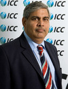 Shashank Manohar, the BCCI president, at the ICC board meeting, Dubai, October 12, 2010