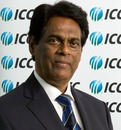 Somachandra de Silva, Sri Lanka Cricket's interim chairman, at the ICC board meeting, Dubai, October 12, 2010