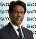 Somachandra de Silva, Sri Lanka Cricket's interim chairman, at the ICC board meeting, Dubai, October 12, 2010