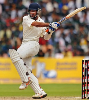 Cheteshwar Pujara is likely to fill the gap left by Rahul Dravid for the upcoming Test series