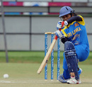 Inoka Galagedara's run-a-ball 42 steered Sri Lanka to victory, Sri Lanka v Pakistan, ICC Women's Cricket Twenty20 Challenge, October 14, 2010