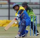 Inoka Galagedara struck six boundaries in her Player-of-the-Match winning effort, Sri Lanka v Pakistan, ICC Women's Cricket Twenty20 Challenge, October 14, 2010