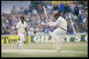 Gordon Greenidge hooks Norman Cowans