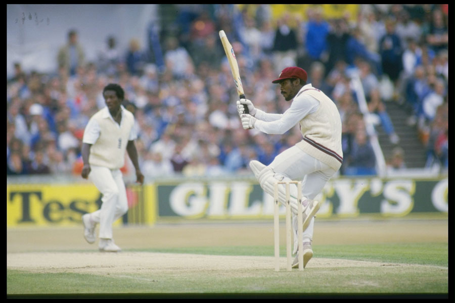 Gordon Greenidge: 134 out of 211 against England in 1976