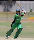 Ireland's Eimear Richardson drives through the off side, Ireland Women v Pakistan Women, ICC Women's Cricket Twenty20 Challenge, Potchefstroom, October 16, 2010