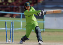 Pakistan's Asmavia Iqbal is bowled, South Africa Women v Pakistan Women, ICC Women's Cricket Twenty20 Challenge, Potchefstroom, October 16, 2010