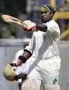 Sridharan Sriram celebrates his century, Tamil Nadu v Assam, Chennai, Ranji Trophy Super League, 4th day, November 4, 2010