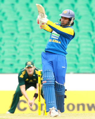 Upul Tharanga set up Sri Lanka's success with a composed 86 not out