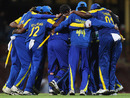 The Sri Lankan team celebrates winning their ODI series against Australia, Australia v Sri Lanka, 2nd ODI, Sydney, November 5, 2010