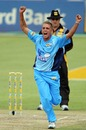 Mario Olivier claimed two important wickets for Titans, Titans v Eagles, MTN40, Benoni, November 7, 2010