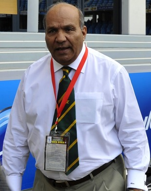 Intikhab Alam, Pakistan's team manager, at the stadium, Pakistan v South Africa, 5th ODI, Dubai, November 8, 2010
