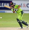 Shahzaib Hasan helped get Pakistan's mammoth chase off to a bright start, Pakistan v South Africa, 5th ODI, Dubai, November 8, 2010