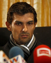 Pakistan wicketkeeper Zulqarnain Haider held a press conference at a restaurant in Southall to explain his disappearance from the team