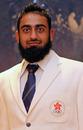 Zafaran Ali in his Asian Games uniform