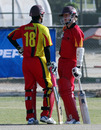 Milan Fernando and Andre Leslie added 49 runs upfront, Kuwait v Germany, WCL Division 8 Final, Ahmadi City, November 12, 2010