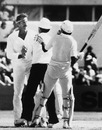 Dennis Lillee and Javed Miandad clash