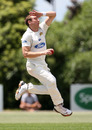 James McMillan toiled hard for one wicket, Auckland v Otago, Plunkett Shield, Auckland, 1st day, November 16, 2010