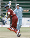 Brian Lara made 11 before he was dismissed