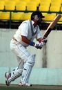 Yuvraj Singh drives, Himachal Pradesh v Punjab, Dharmasala, Ranji Trophy Super League, 3rd day, November 19, 2010