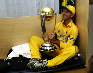 World Cup 2003, Final - Australia v India at Johannesburg, 23rd March 2003