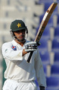 Misbah-ul-haq celebrates his third half-century of the series